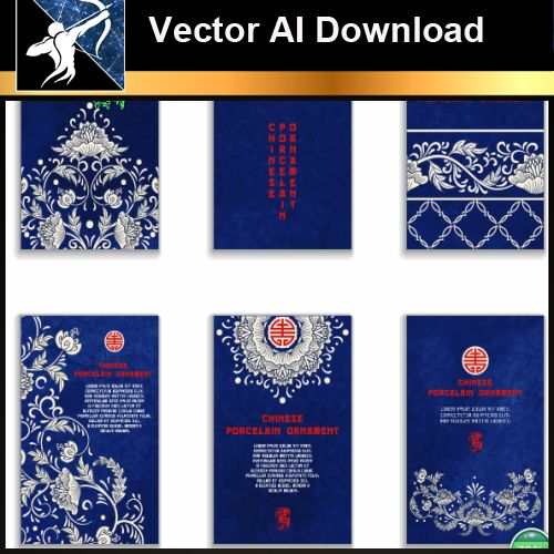 ★Vector Download AI-Chinese Design Elements V.8 - Architecture Autocad Blocks,CAD Details,CAD Drawings,3D Models,PSD,Vector,Sketchup Download
