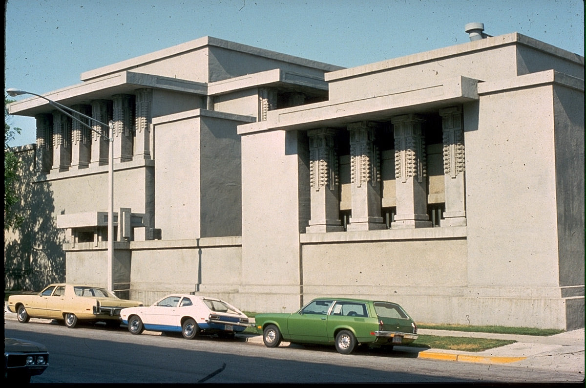 【Famous Architecture Project】Unity Temple-Frank Lloyd Wright-Architectural CAD Drawings