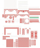 ★Vector Decoration Design Elements V.23-Download Illustration AI Vector Files