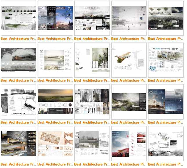 Best Architecture Presentation Ideas V.3(Free Downloadable) - Architecture Autocad Blocks,CAD Details,CAD Drawings,3D Models,PSD,Vector,Sketchup Download