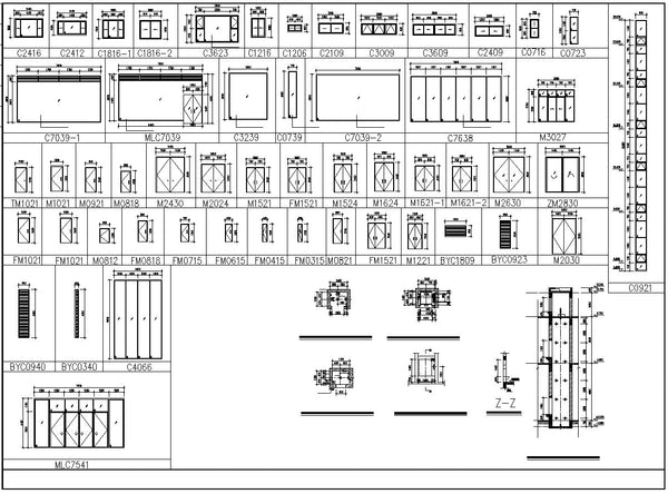 ★【Residential Building CAD Details Collection V 2】Layout,Lobby,Room  design,Public facilities,Counter@Autocad Blocks,Drawings,CAD  Details,Elevation