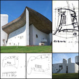 【World Famous Architecture CAD Drawings】Notre Dame du Haut(Ronchamp) - Architecture Autocad Blocks,CAD Details,CAD Drawings,3D Models,PSD,Vector,Sketchup Download