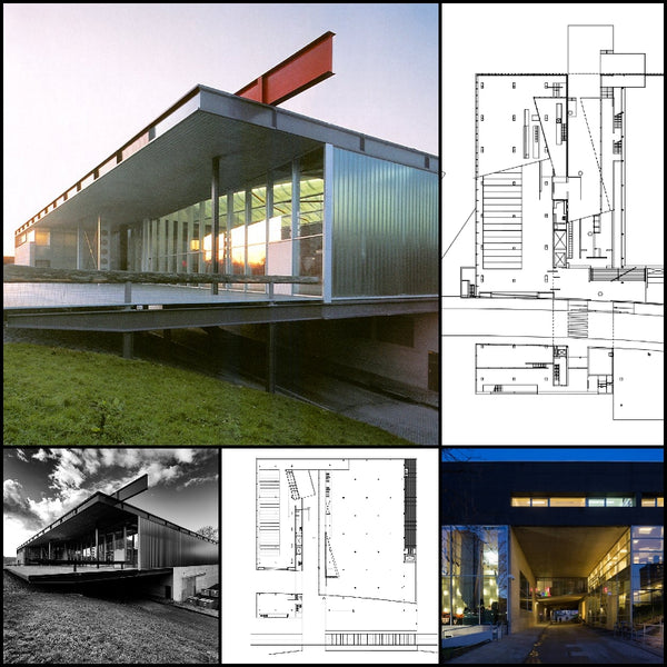 【World Famous Architecture CAD Drawings】Kunsthal, OMA - ATLAS OF PLACES-Rem Koolhaas