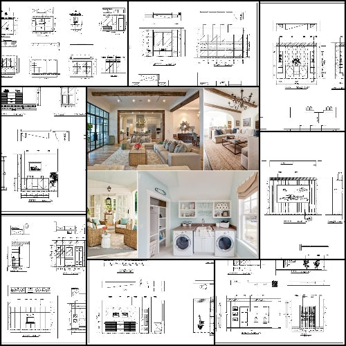 Interior Design Cad Design Details Elevation Collection