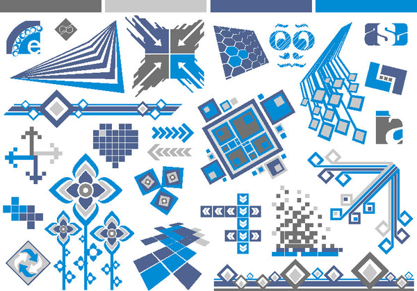 ★Free Vector Design Elements V.12-Free Download Illustration AI Vector