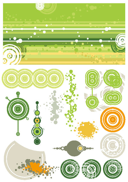 ★Free Vector Design Elements V.14-Free Download Illustration AI Vector
