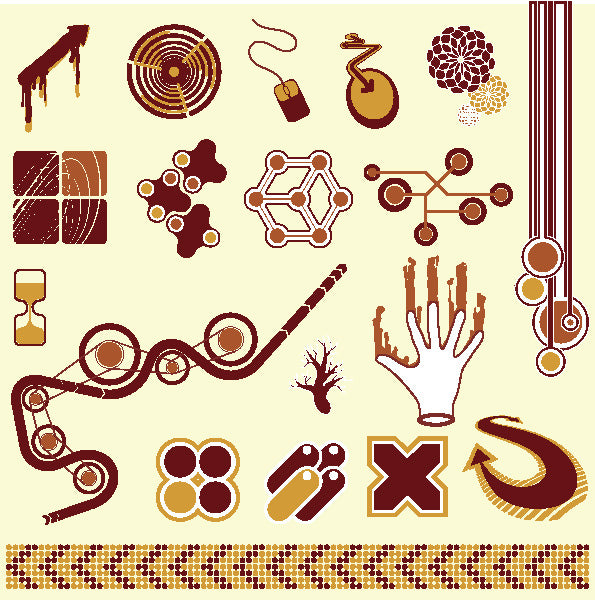 ★Free Vector Design Elements V.16-Free Download Illustration AI Vector