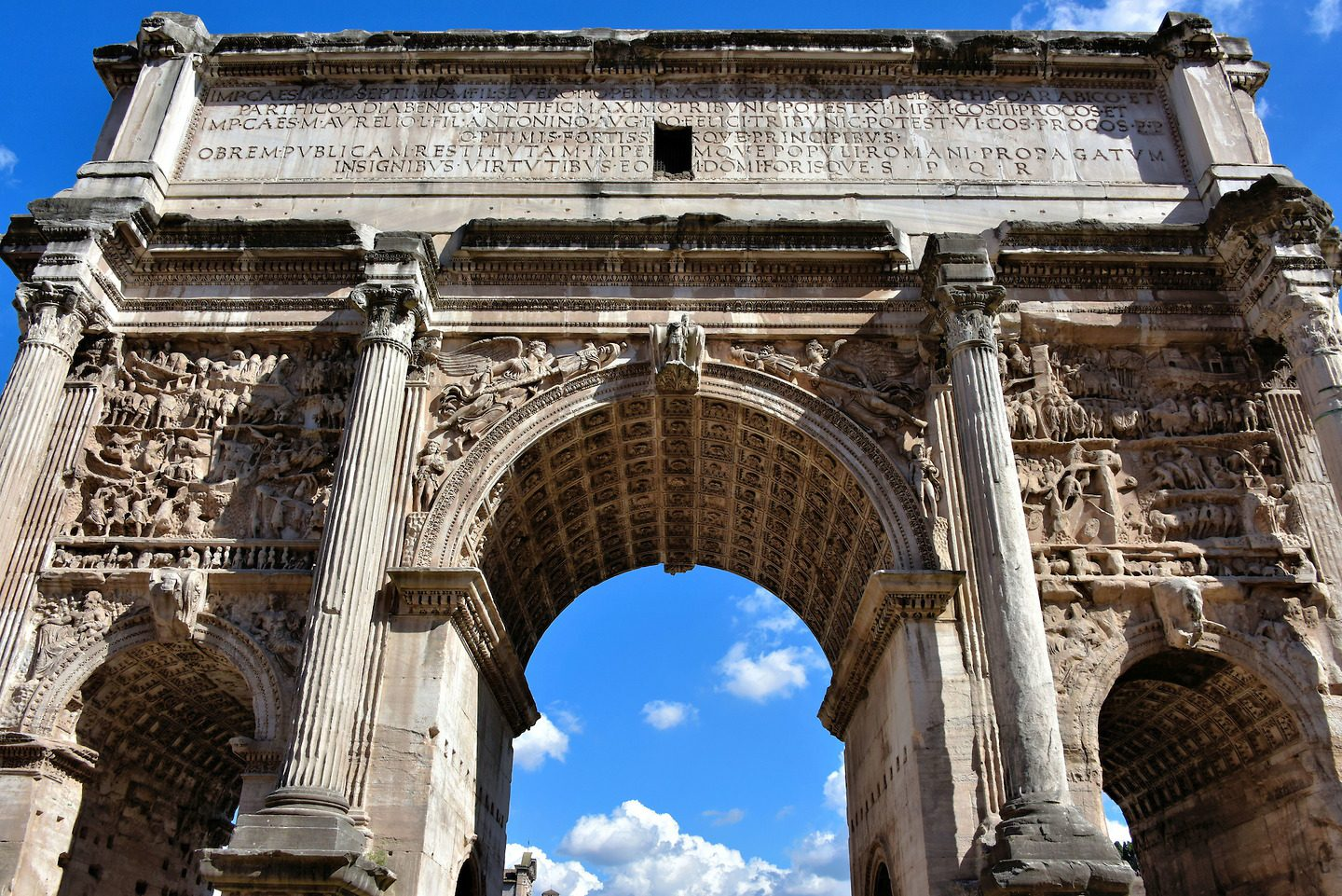 【Famous Architecture Project】Arch Of Septimius SeverusArch Of Septimius Severus-Architectural 3D SKP model