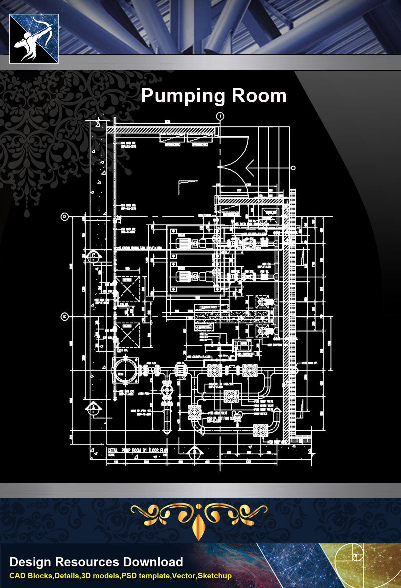 ★【Sanitations Details】Pumping Room