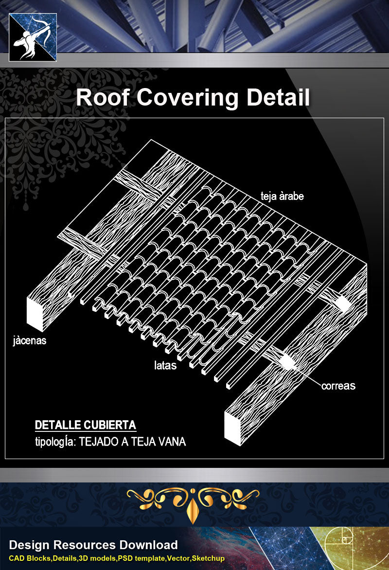 【Roof Details】Free Roof Covering Detail