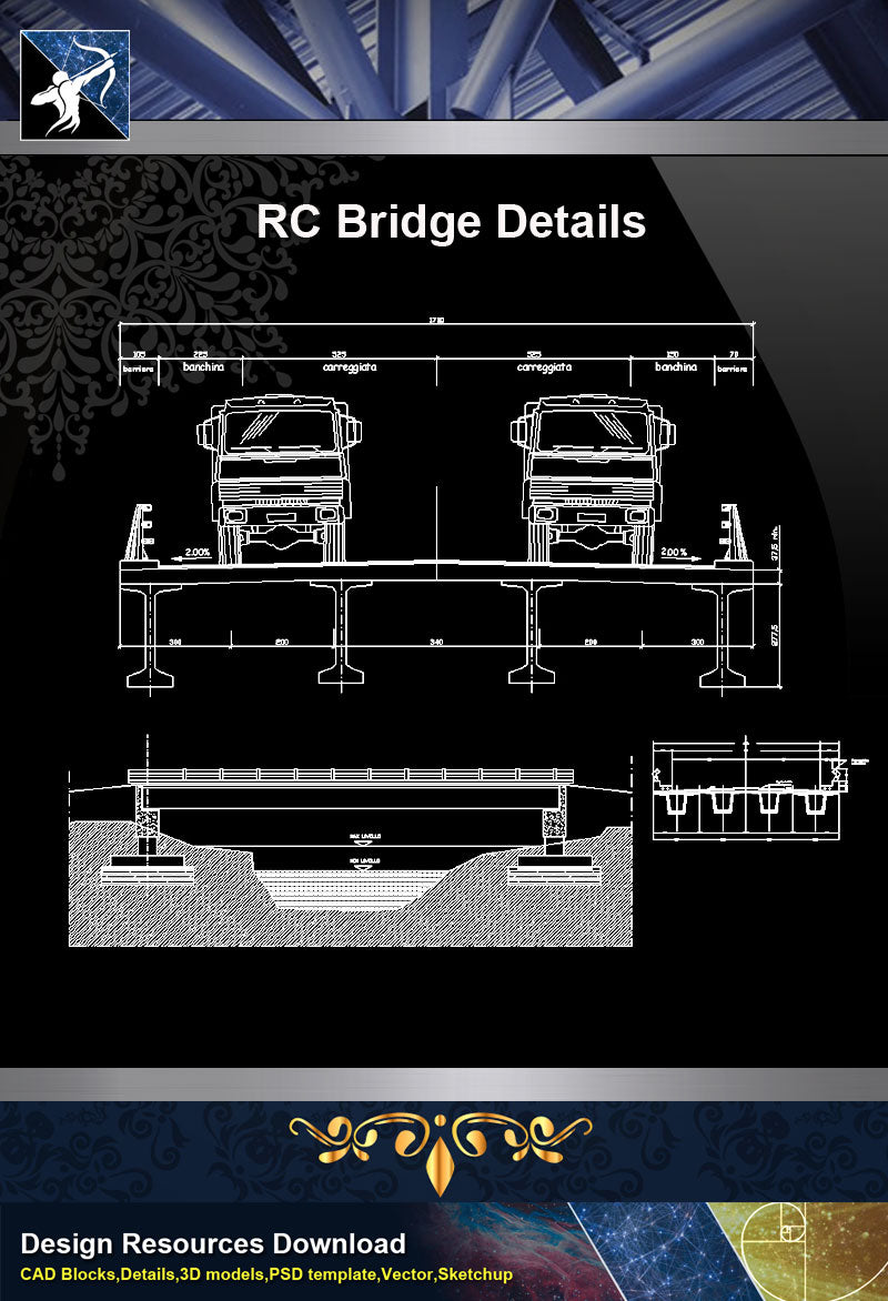 ★【Bridge Details】RC Bridge