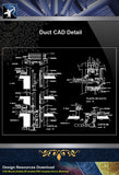 【Architecture Details】Duct CAD Detail - Architecture Autocad Blocks,CAD Details,CAD Drawings,3D Models,PSD,Vector,Sketchup Download