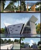 ★100 Super Modern Architecture Ideas V.15(Free Downloadable) - Architecture Autocad Blocks,CAD Details,CAD Drawings,3D Models,PSD,Vector,Sketchup Download