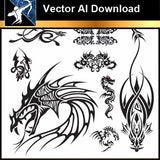 ★Vector Download AI-Chinese Design Elements V.3
