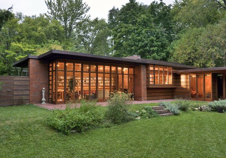【Famous Architecture Project】Herbert and Katherine Jacobs House-Frank Lloyd Wright-Architectural CAD Drawings