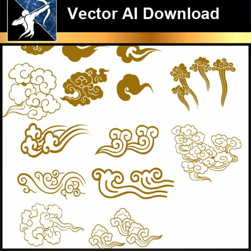 ★Vector Download AI-Chinese Design Elements V.1