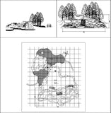 ★【Chinese Garden,Artificial rockery,Waterfall Autocad Drawings】All kinds of Chinese Landscape CAD Drawings