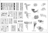 ★【Full Chinese Architecture Design CAD elements】All kinds of Chinese Architectural CAD Drawings Bundle