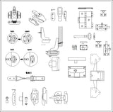 ★【Various of Lighting hardware Autocad Blocks】-All kinds of Lighting Autocad Blocks Collection - Architecture Autocad Blocks,CAD Details,CAD Drawings,3D Models,PSD,Vector,Sketchup Download