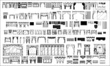 ★【Curtain Design Autocad Blocks,elevation Collections】All kinds of Curtain CAD Blocks - Architecture Autocad Blocks,CAD Details,CAD Drawings,3D Models,PSD,Vector,Sketchup Download