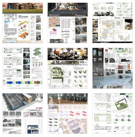 ★Architectural Competition Portfolio V16 (Free Downloadable) - Architecture Autocad Blocks,CAD Details,CAD Drawings,3D Models,PSD,Vector,Sketchup Download