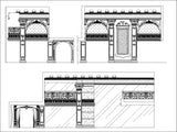 ★【Interior design Neoclassical wall design V1】All kinds of Neoclassical wall design CAD drawings Bundle - Architecture Autocad Blocks,CAD Details,CAD Drawings,3D Models,PSD,Vector,Sketchup Download