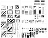 ★【Electrical Appliances Autocad Blocks Collections】All kinds of Electrical Appliances CAD Blocks