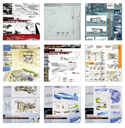 ★Architectural Competition Portfolio V25 (Free Downloadable) - Architecture Autocad Blocks,CAD Details,CAD Drawings,3D Models,PSD,Vector,Sketchup Download