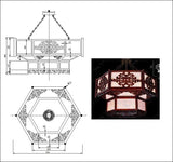 ★【Chinese Style Lamps Autocad Blocks】-All kinds of Chinese Style Lamps Autocad Blocks Collection - Architecture Autocad Blocks,CAD Details,CAD Drawings,3D Models,PSD,Vector,Sketchup Download