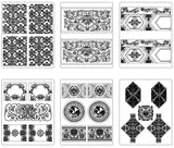 ★【Islamic Style Pattern Autocad Blocks V.1】All kinds of Islamic Style Pattern CAD drawings Bundle - Architecture Autocad Blocks,CAD Details,CAD Drawings,3D Models,PSD,Vector,Sketchup Download