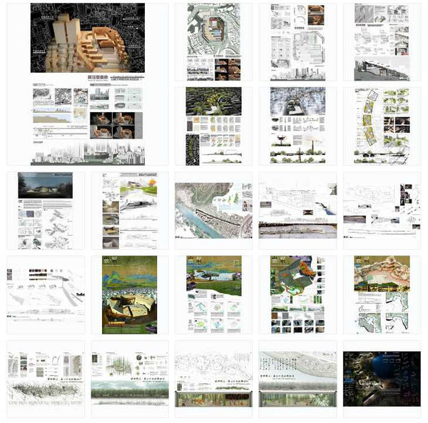 Best Architecture Presentation Ideas V.8(Free Downloadable) - Architecture Autocad Blocks,CAD Details,CAD Drawings,3D Models,PSD,Vector,Sketchup Download