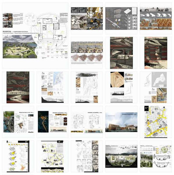 Best Architecture Presentation Ideas V.9(Free Downloadable) - Architecture Autocad Blocks,CAD Details,CAD Drawings,3D Models,PSD,Vector,Sketchup Download
