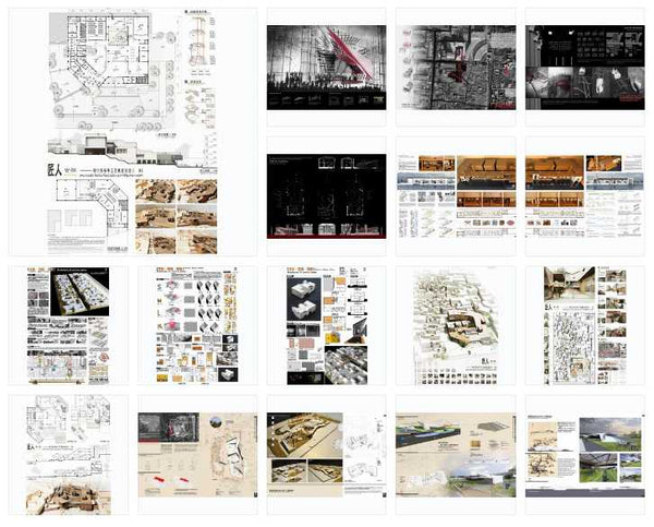 Best Architecture Presentation Ideas V.7(Free Downloadable) - Architecture Autocad Blocks,CAD Details,CAD Drawings,3D Models,PSD,Vector,Sketchup Download