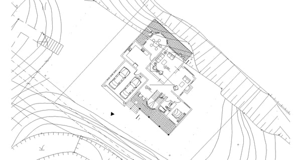 ★Modern Villa CAD Plan,Elevation Drawings Download V.32