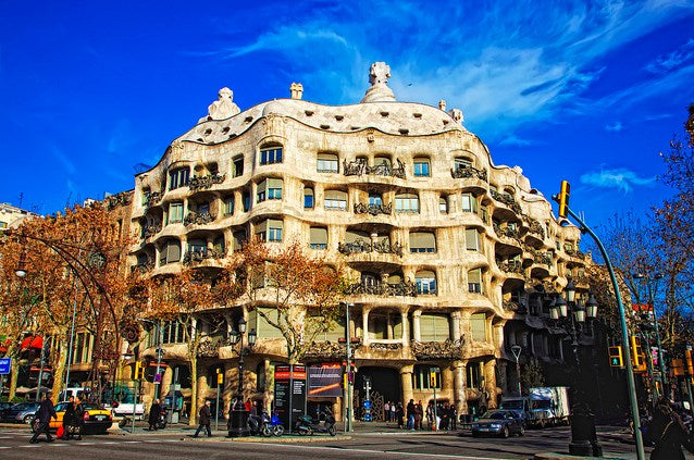 【Famous Architecture Project】Casa Mila-Antoni Gaudi-Architectural CAD Drawings