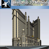 ★★Sketchup 3D Models--Big Scale Business Architecture Sketchup Models 07 - Architecture Autocad Blocks,CAD Details,CAD Drawings,3D Models,PSD,Vector,Sketchup Download