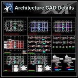 【Architecture Details】Structure Drawings - Architecture Autocad Blocks,CAD Details,CAD Drawings,3D Models,PSD,Vector,Sketchup Download