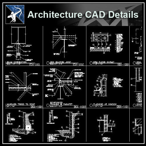 【Architecture Details】Architecture Details Collection - Architecture Autocad Blocks,CAD Details,CAD Drawings,3D Models,PSD,Vector,Sketchup Download