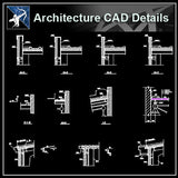 【Architecture Details】Steel Structure Details V.2 - Architecture Autocad Blocks,CAD Details,CAD Drawings,3D Models,PSD,Vector,Sketchup Download
