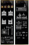 【Architectural CAD Drawings Bundle】(Best Collections!!Get Total 79 Collections for only $99!)