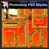 ★Photoshop PSD Decorative Elements V8-PSD Decorative Elements,Skirting Board,Corner Post,Neoclassicism Decor,Baroque elements - Architecture Autocad Blocks,CAD Details,CAD Drawings,3D Models,PSD,Vector,Sketchup Download