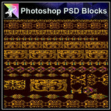 ★Photoshop PSD Decorative Elements V9-PSD Decorative Elements,Skirting Board,Corner Post,Neoclassicism Decor,Baroque elements - Architecture Autocad Blocks,CAD Details,CAD Drawings,3D Models,PSD,Vector,Sketchup Download