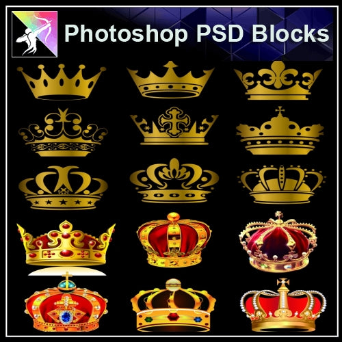 ★Photoshop PSD Decorative Elements V13-PSD Decorative Elements,Skirting Board,Corner Post,Neoclassicism Decor,Baroque elements