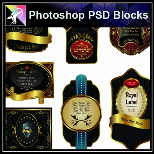 ★Photoshop PSD Decorative Elements V14-PSD Decorative Elements,Skirting Board,Corner Post,Neoclassicism Decor,Baroque elements