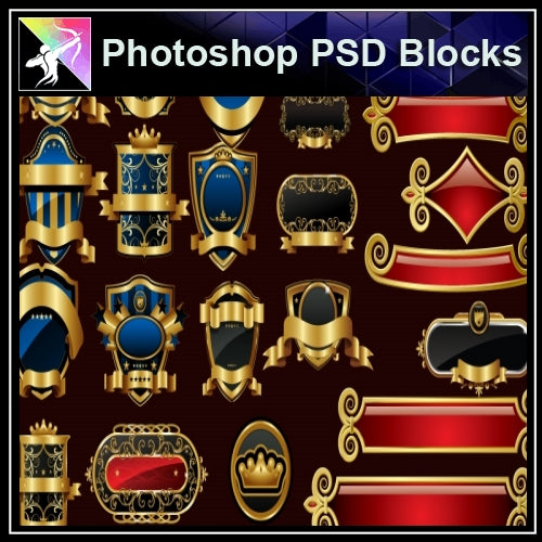 ★Photoshop PSD Decorative Elements V10-PSD Decorative Elements,Skirting Board,Corner Post,Neoclassicism Decor,Baroque elements - Architecture Autocad Blocks,CAD Details,CAD Drawings,3D Models,PSD,Vector,Sketchup Download