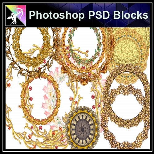 ★Photoshop PSD Decorative Elements V15-PSD Decorative Elements,Skirting Board,Corner Post,Neoclassicism Decor,Baroque elements - Architecture Autocad Blocks,CAD Details,CAD Drawings,3D Models,PSD,Vector,Sketchup Download