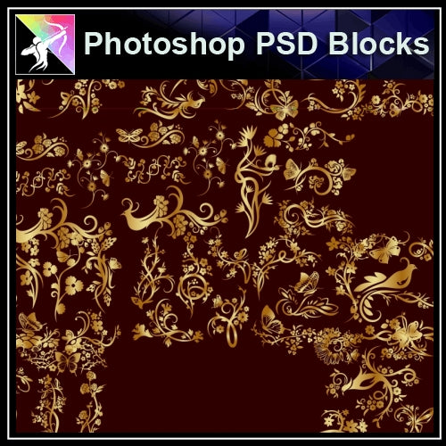 ★Photoshop PSD Decorative Elements V21-PSD Decorative Elements,Skirting Board,Corner Post,Neoclassicism Decor,Baroque elements - Architecture Autocad Blocks,CAD Details,CAD Drawings,3D Models,PSD,Vector,Sketchup Download