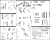 ★【Stair Autocad Blocks,details Collections】All kinds of Stair Design CAD Drawings - Architecture Autocad Blocks,CAD Details,CAD Drawings,3D Models,PSD,Vector,Sketchup Download