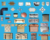 ★Best Interior Design PSD Blocks Bundle (Total 0.57GB PSD Files -Over 1000 PSD Blocks💎💎) - Architecture Autocad Blocks,CAD Details,CAD Drawings,3D Models,PSD,Vector,Sketchup Download