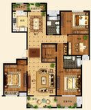 ★【10 Types Interior Design Plan Photoshop PSD】(Recommanded!!) - Architecture Autocad Blocks,CAD Details,CAD Drawings,3D Models,PSD,Vector,Sketchup Download